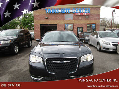 2018 Chrysler 300 for sale at Twin's Auto Center Inc. in Detroit MI