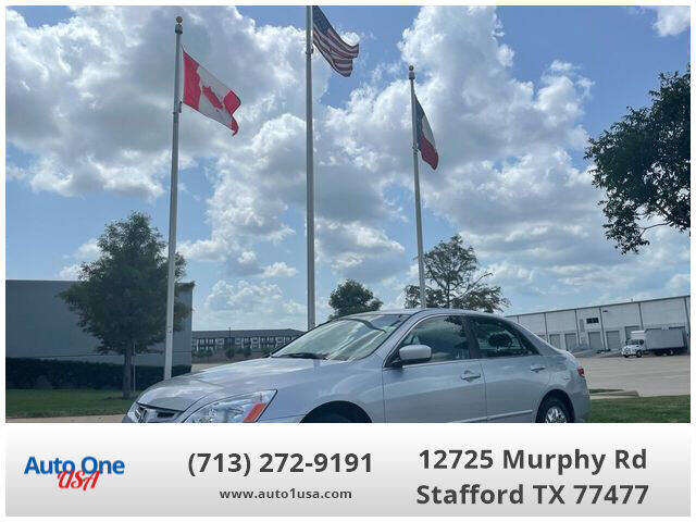2004 Honda Accord for sale at Auto One USA in Stafford TX