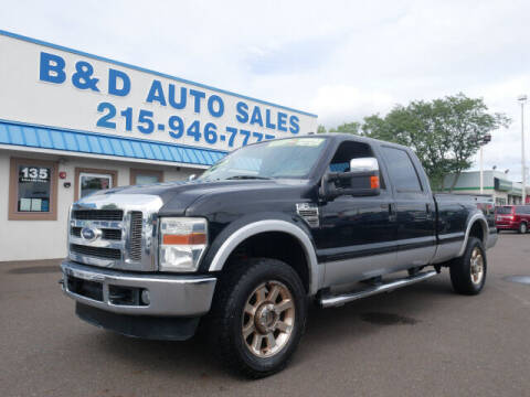 2010 Ford F-350 Super Duty for sale at B & D Auto Sales Inc. in Fairless Hills PA