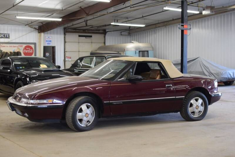 1990 Buick Reatta for sale at Hooked On Classics in Watertown MN