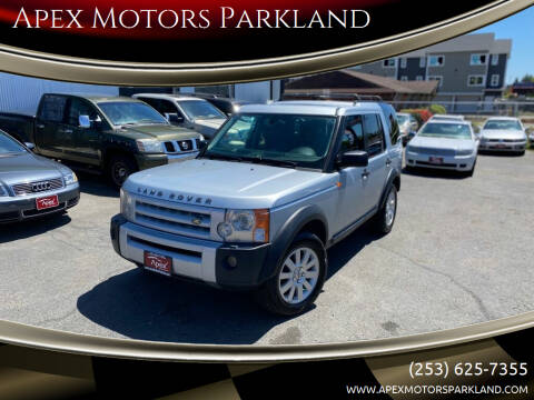 2006 Land Rover LR3 for sale at Apex Motors Parkland in Tacoma WA