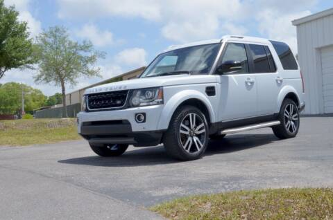 2016 Land Rover LR4 for sale at Exquisite Auto in Sarasota FL