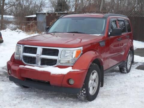 2007 Dodge Nitro for sale at MT MORRIS AUTO SALES INC in Mount Morris MI