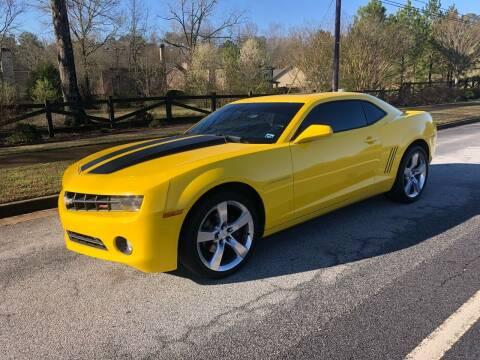 2010 Chevrolet Camaro for sale at Judex Motors in Loganville GA