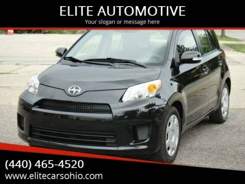 2010 Scion xD for sale at ELITE CARS OHIO LLC in Solon OH