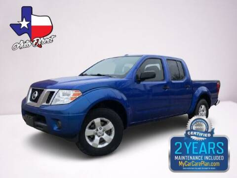 2012 Nissan Frontier for sale at AUTO DIRECT in Houston TX