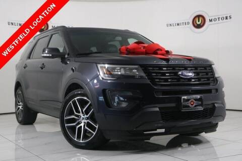 2017 Ford Explorer for sale at INDY'S UNLIMITED MOTORS - UNLIMITED MOTORS in Westfield IN