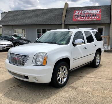2010 GMC Yukon for sale at Stephen Motor Sales LLC in Caldwell OH