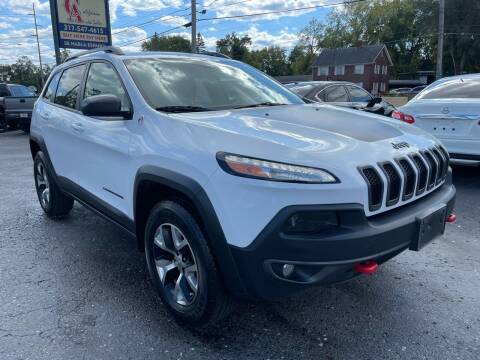2016 Jeep Cherokee for sale at California Auto Sales in Indianapolis IN