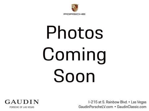2017 Porsche Cayenne for sale at Gaudin Porsche in Las Vegas NV
