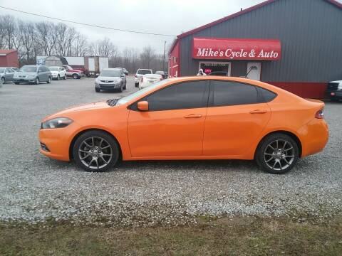 2013 Dodge Dart for sale at MIKE'S CYCLE & AUTO - Mikes Cycle and Auto (Liberty) in Liberty IN
