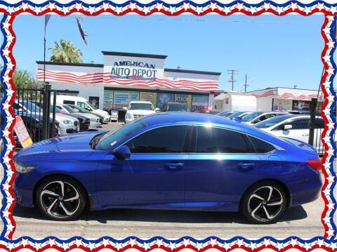 2020 Honda Accord for sale at American Auto Depot in Modesto CA