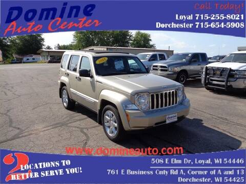 2011 Jeep Liberty for sale at Domine Auto Center in Loyal WI