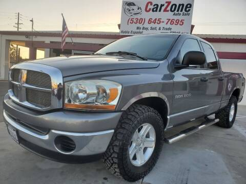 2006 Dodge Ram Pickup 1500 for sale at CarZone in Marysville CA