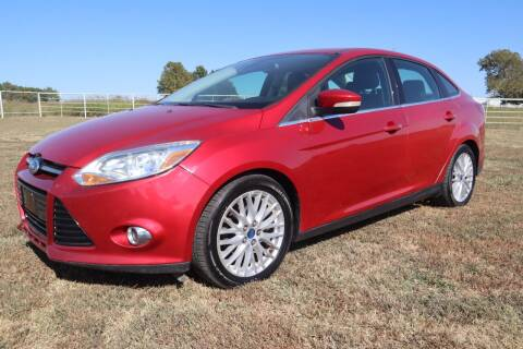 2012 Ford Focus for sale at Liberty Truck Sales in Mounds OK