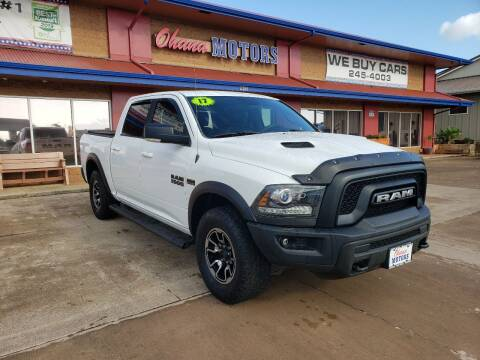 2017 RAM Ram Pickup 1500 for sale at Ohana Motors - Lifted Vehicles in Lihue HI