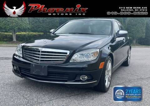 2008 Mercedes-Benz C-Class for sale at Phoenix Motors Inc in Raleigh NC