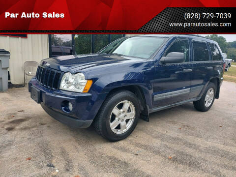2005 Jeep Grand Cherokee for sale at Par Auto Sales in Lenoir NC