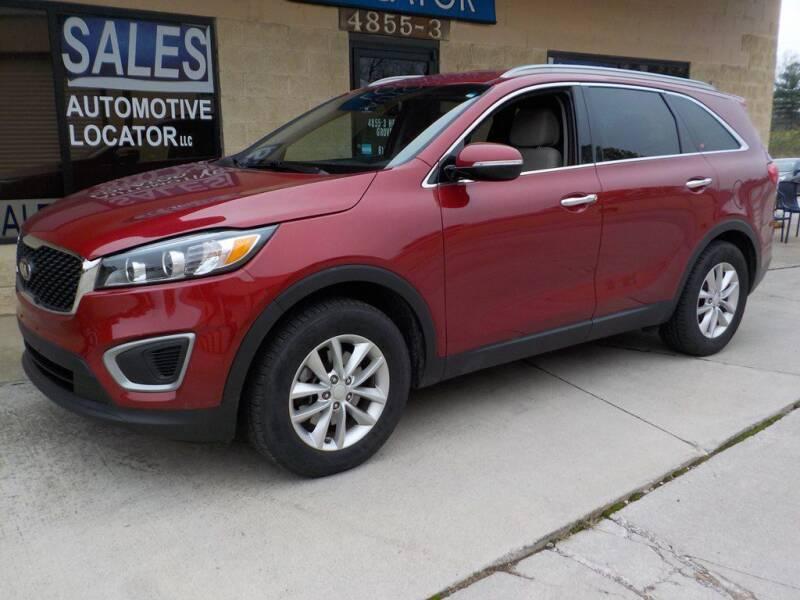 2016 Kia Sorento for sale at Automotive Locator- Auto Sales in Groveport OH