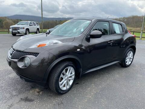 2011 Nissan JUKE for sale at Pine Grove Auto Sales LLC in Russell PA