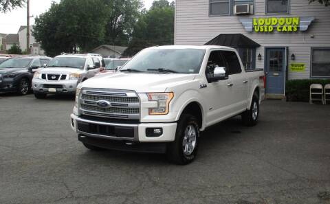 2017 Ford F-150 for sale at Loudoun Used Cars in Leesburg VA