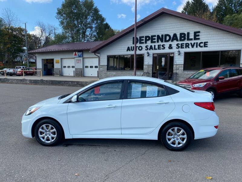 2013 Hyundai Accent for sale at Dependable Auto Sales and Service in Binghamton NY