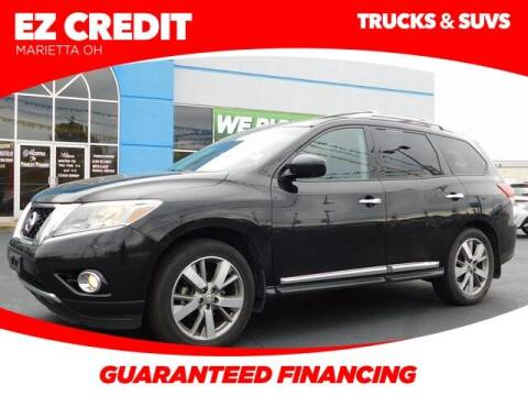 2013 Nissan Pathfinder for sale at Pioneer Family preowned autos in Williamstown WV