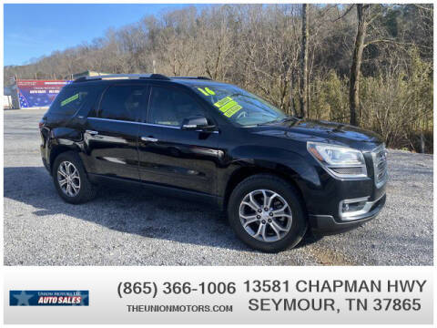 2016 GMC Acadia for sale at Union Motors in Seymour TN