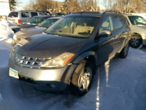 2005 Nissan Murano for sale at Continental Auto Sales in White Bear Lake MN