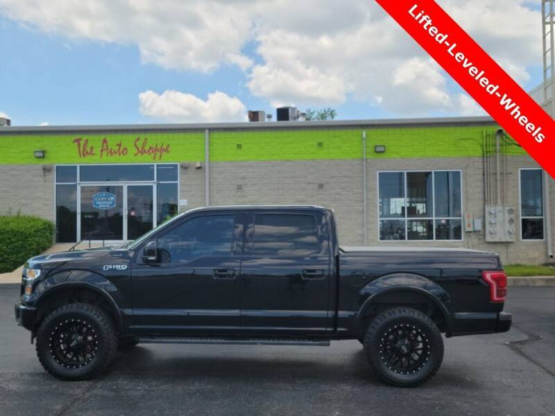 2016 Ford F-150 for sale at The Auto Shoppe in Springfield MO