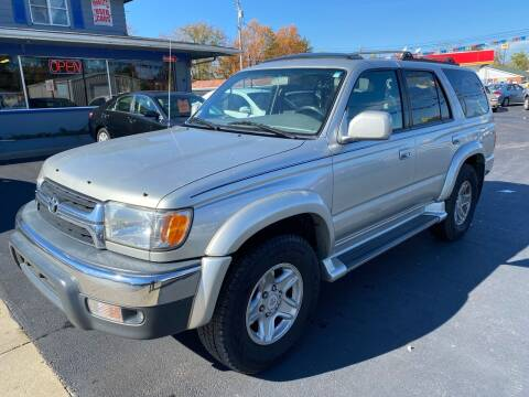 2001 Toyota 4Runner for sale at Wise Investments Auto Sales in Sellersburg IN