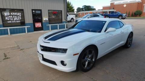 2013 Chevrolet Camaro for sale at Mid Kansas Auto Sales in Pratt KS