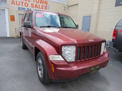 2008 Jeep Liberty for sale at Small Town Auto Sales in Hazleton PA