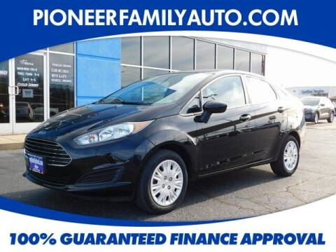 2019 Ford Fiesta for sale at Pioneer Family auto in Marietta OH