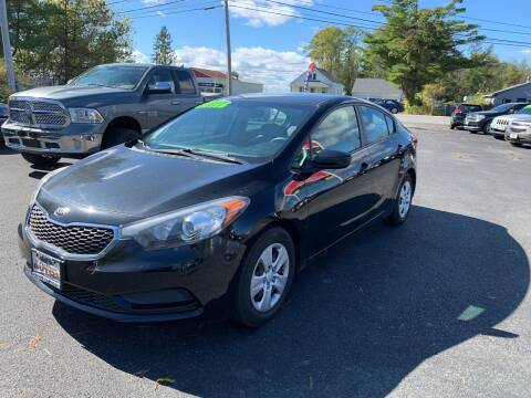 2015 Kia Forte for sale at Excellent Autos in Amsterdam NY