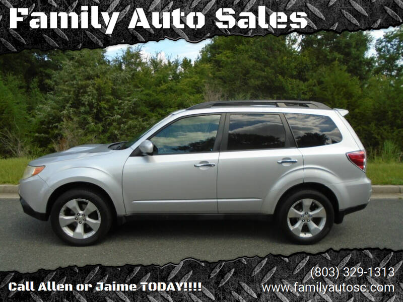 2010 Subaru Forester for sale at Family Auto Sales in Rock Hill SC