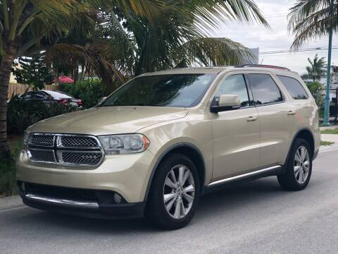 2012 Dodge Durango for sale at L G AUTO SALES in Boynton Beach FL
