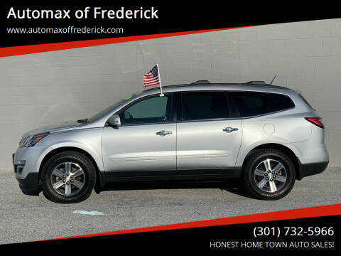 2017 Chevrolet Traverse for sale at Automax of Frederick in Frederick MD