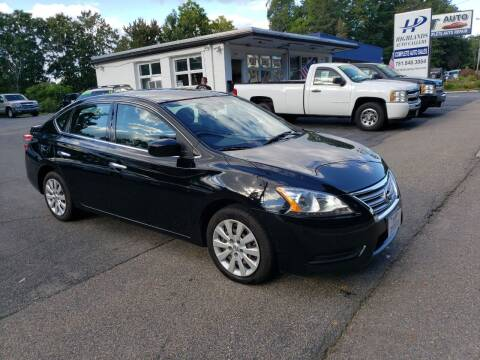 2014 Nissan Sentra for sale at Highlands Auto Gallery in Braintree MA