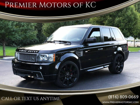 2009 Land Rover Range Rover Sport for sale at Premier Motors of KC in Kansas City MO