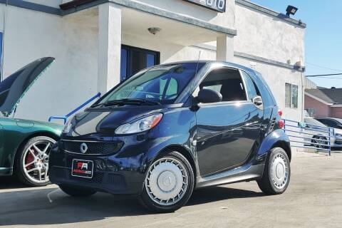 2014 Smart fortwo for sale at Fastrack Auto Inc in Rosemead CA
