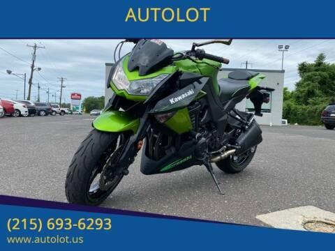 2011 Kawasaki Z1000 for sale at AUTOLOT in Bristol PA