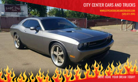 2012 Dodge Challenger for sale at City Center Cars and Trucks in Roseburg OR
