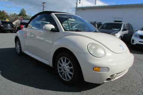 2005 Volkswagen New Beetle Convertible for sale at Purcellville Motors in Purcellville VA