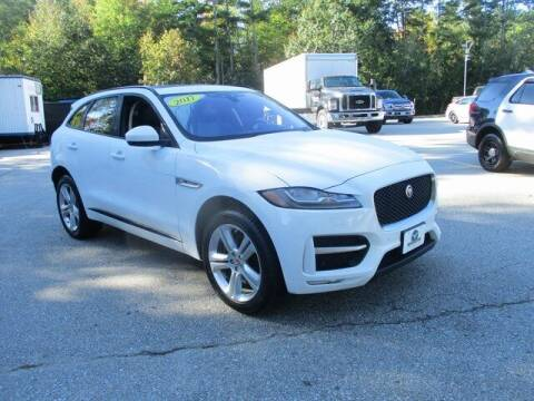 2017 Jaguar F-PACE for sale at MC FARLAND FORD in Exeter NH