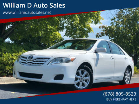 2011 Toyota Camry for sale at William D Auto Sales in Norcross GA