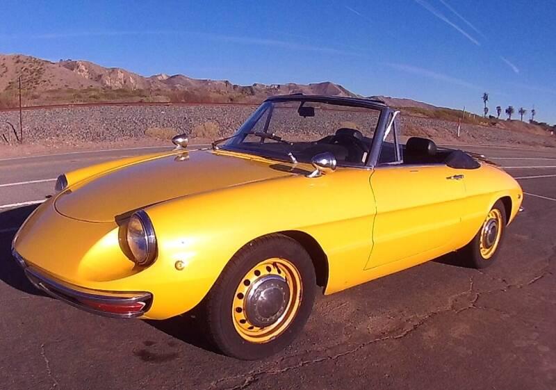 1969 Alfa Romeo Spider for sale at Milpas Motors Auto Gallery in Ventura CA