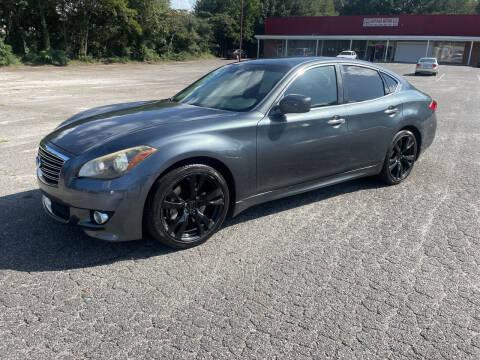 2012 Infiniti M37 for sale at Certified Motors LLC in Mableton GA