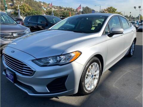 2019 Ford Fusion for sale at AutoDeals in Hayward CA