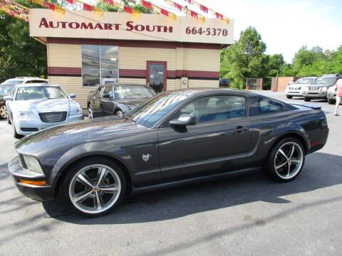 2009 Ford Mustang for sale at Automart South in Alabaster AL